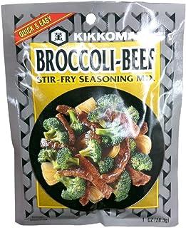 KIKKOMAN MIX SSNNG BROCCOLI BEEF, 1 OZ,(Pack of 6)