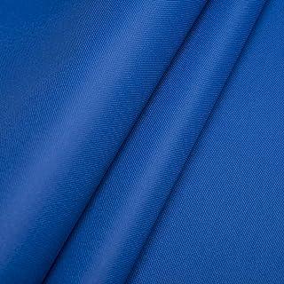 Polyester Oxford 600D 1lfm - Wasserdicht, Outdoor Stoff, Segeltuch, Abdeckplane - Wasserdicht Blau