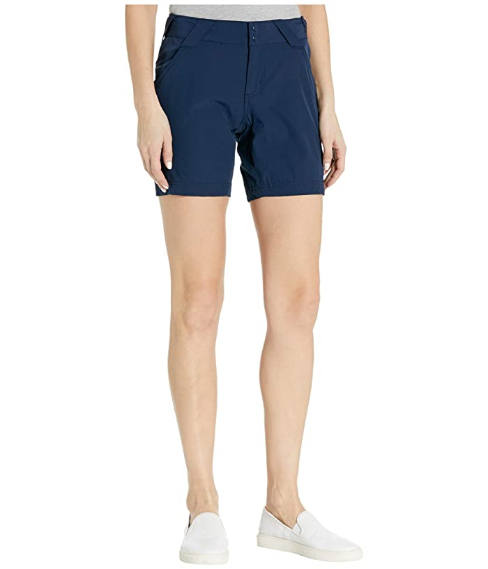 Columbia  Coral Pointtm III Shorts (Collegiate Navy) Womens Shorts