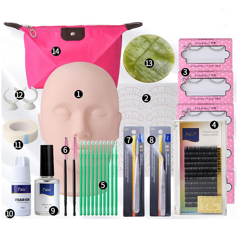 Directly managed store Topics on TV 14PCS Lash Extension Kit with Glue Buqikma Ey Professional False