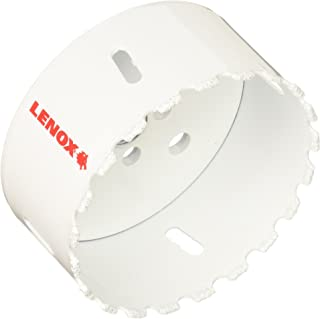 Lenox Tools 2995858CG Master-Grit Carbide Grit Hole Saw, 3-5/8-Inch or 92mm