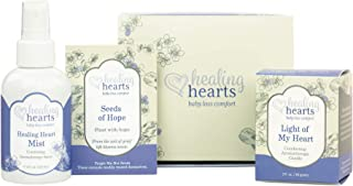 Healing Hearts Comfort Gift Set by Earth Mama | Pregnancy, Miscarriage and Baby Loss Care for Grieving Moms, 4-Piece Set