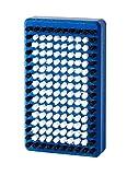 Holmenkol Unisex– Erwachsene Nylon Bürste, Blau/Weiß, Einheitsgröße
