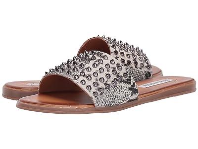 Steve Madden Farryn Flat Sandals (Snake) Women