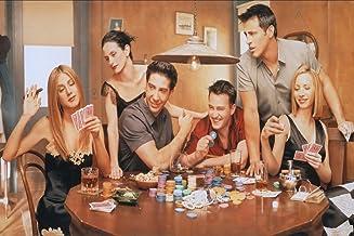Remarkable Poster's Friends TV Show/Series Chandler Bing Ross Geller Monica Geller Rachel Green Joey Tribbiani 12 x 18 Inc...