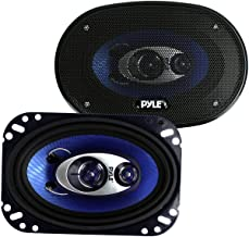 """$21 » 2) New Pyle PL463BL 4x6"""" 240W 3 Way Car Coaxial Audio Speakers Stereo PAIR Blue (Renewed)"""