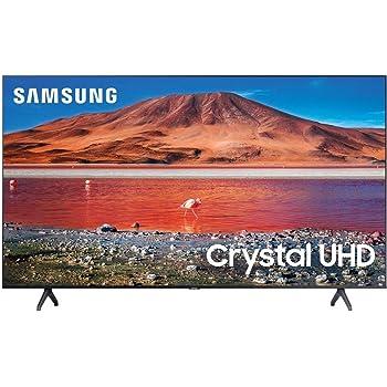 Samsung 70-inch TU-7000 Series Class Smart TV   Crystal UHD - 4K HDR - with Alexa Built-in   UN70TU7000FXZA, 2020 Model