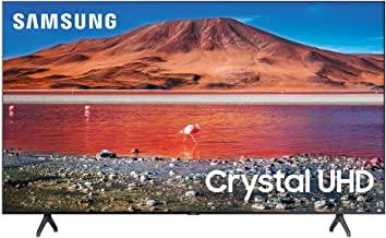 Samsung 55-inch Class Crystal UHD TU-7000 Series - 4K UHD HDR Smart TV with Alexa Built-in (UN55TU7000FXZA, 2020 Model)