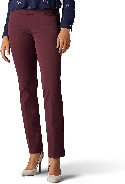LEE Women's Sculpting Great interest Slim Pant Sales Pull-On Leg Fit
