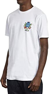 RVCA Men's Tiki Crest Short Sleeve Crew Neck T-Shirt