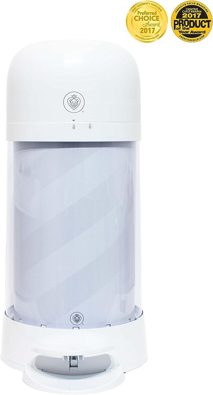 Prince Lionheart Twist'r Diaper Disposal System, White Candy Stripe
