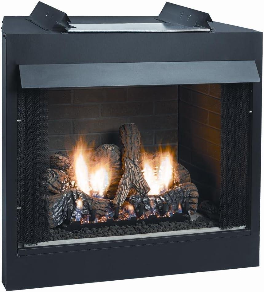 Deluxe 42 inch Max 83% OFF Elegant Vent-Free Face Flush Firebox -