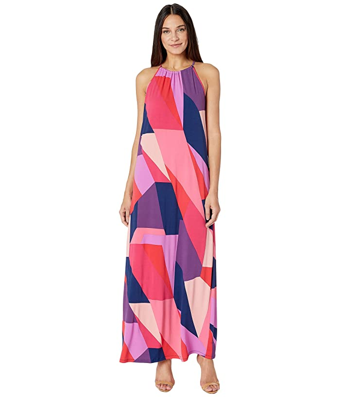 50 Vintage Inspired Clothing Brands & Stores Trina Turk Milian 2 Dress Teaberry Womens Dress $138.00 AT vintagedancer.com