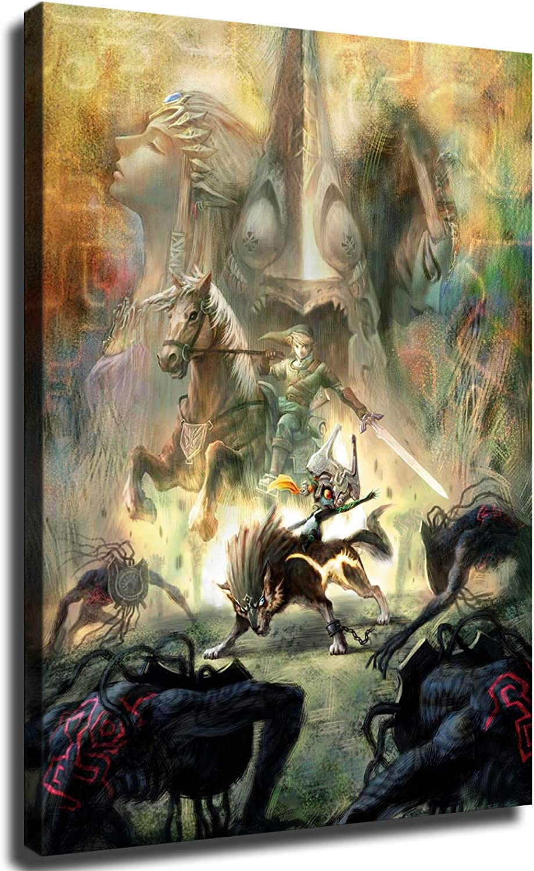 IFUNEW Zelda Twilight Princess Wall Decor お洒落 内祝い Room Be Art Living for