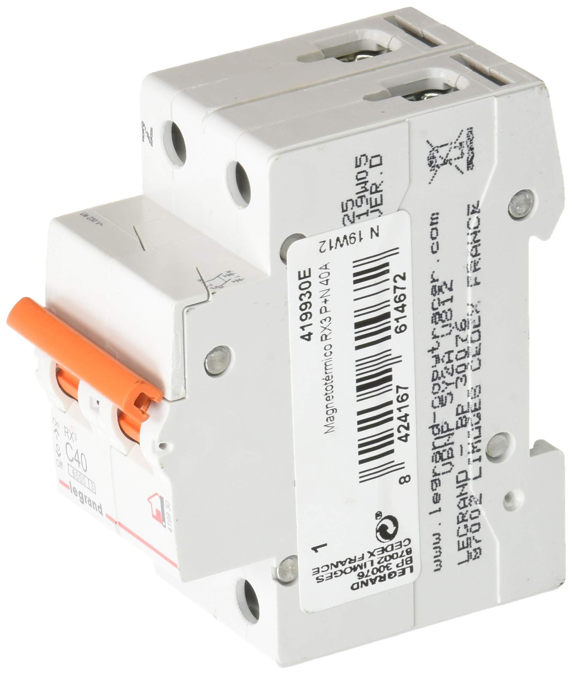 Legrand, Interruptor Diferencial, Protector de sobrecargas, 40A: Amazon.es: Bricolaje y herramientas