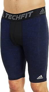 Adidas Mens Techfit Compression Shorts Tight - Collegiate, Collegiate/Royal/Dark Blue, Small