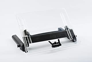 Vu Ryte Adjustable Document Copy Holder, In-Line with Monitor, 175 Sheets Capacity, Holds Books and Personal Technology, Line Guide and Document Clip, 14 Inches Wide (VUR14DC)