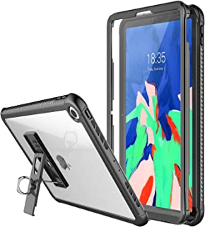 Temdan iPad Pro 12.9' Case,2019 Designed Full-Body Heavy Duty Case Built-in Screen Protector with Adjustable Tablet Stand for Apple iPad Pro 12.9 inch (Black)