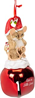 Charming Tails Mouse Couple on Bell Ornament