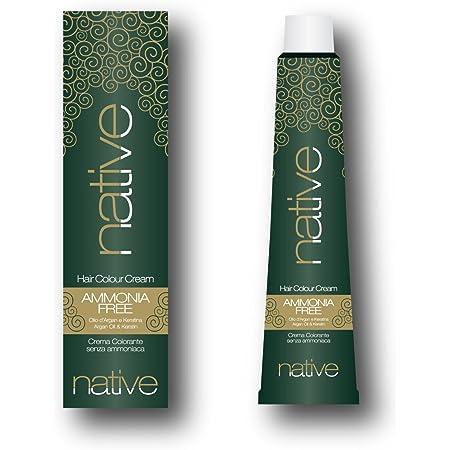 Native - Crema colorante para el cabello sin amoniaco con ...
