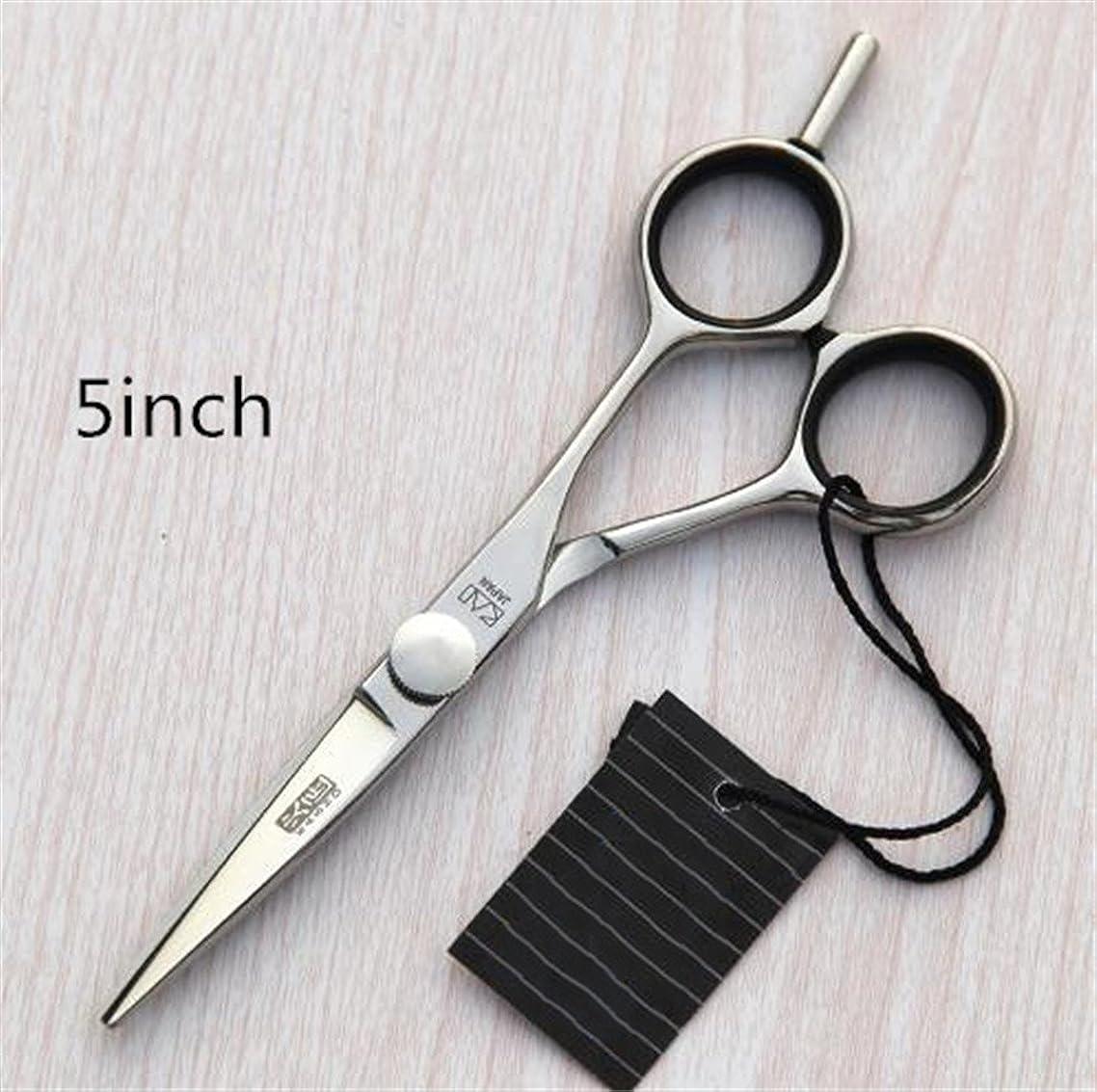 Jiansy 5.0 Or 5.5 Or 6.0 Inch Hair Cutting Scissors/Hair Shears/Barber Scissors/Hairdressing Scissors 5 Point 5 INCH