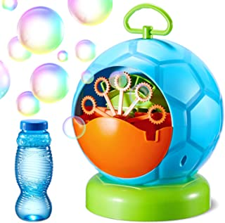 Bubble Machine Geekper Automatic Bubble Blower Durable Bubble Maker with 1 Bottles of Bubbles Solution Refill Over 500 Col...