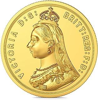 Joyalukkas 22k (916) 8 gm BIS Hallmarked Yellow Gold Precious Coin with Queen Victoria