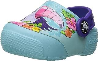 Crocs Baby-Girls Kids' Fun Lab Light-up Girls Graphic Clog