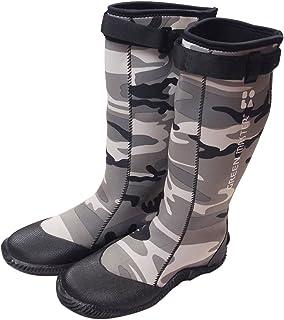 [村の鍛冶屋] アトム グリーンマスターリミテッド プロフェッショナルブーツ 長靴 野外フェス等に最適!