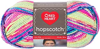 RED HEART Hopscotch Yarn-Jump Rope