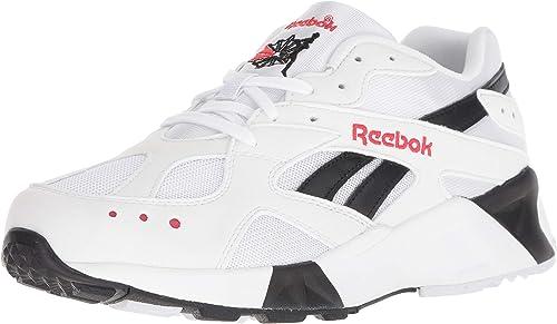 Reebok Hommes's AZTREK chaussures, blanc noir Excellent rouge, 6 M US