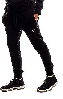 Sports Mens Premium Slim Fit Workout Pants - Athletic Jogger Fitness Gym Sweatpants