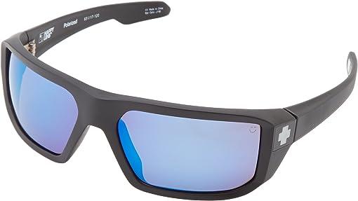 Matte Black/HD Plus Bronze Polar w/ Blue Spectra