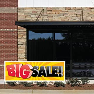 VictoryStore Outdoor Banners -Business Banner - 2' X 6'