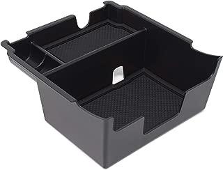 Custom Fit Center Console Armrest Organizer Accessories for 2018 2019 2020 Subaru Crosstrek and Impreza (Solid Black)
