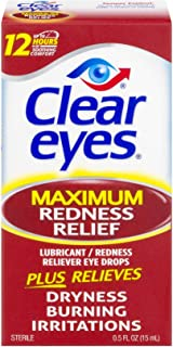 Clear Eyes Maximum Redness Relief Eye Drops - 1 oz