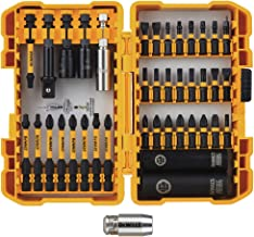DEWALT FlexTorq Impact Driver Bit Set (screwdriving bit set), 40-Piece (DWA2NGFT40IR) Packaging may vary