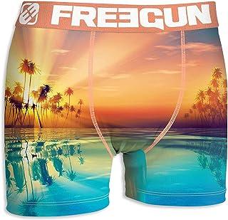 7c9983fc01bff Freegun Underwear.. - Boxers Freegun Homme Act63 Vacances Evasion en  Microfibre -Assortiment modèles