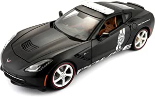 Maisto 2014 Corvette Stingray Police Diecast Vehicle (1:18 Scale)