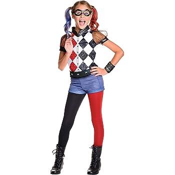 Rubies 620712 - DC Super Hero Girls Harley Quinn Deluxe, Traje de ...