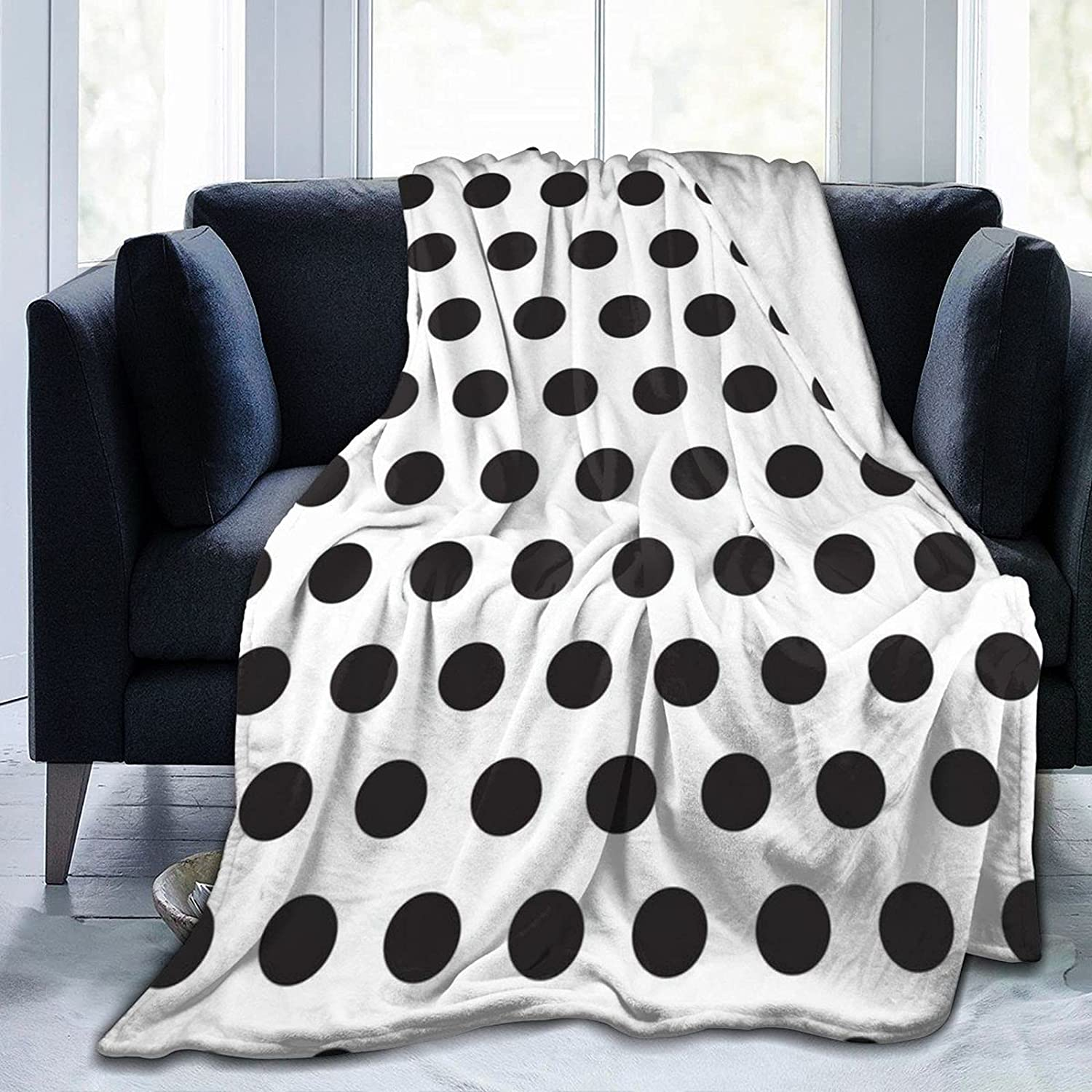 Bed Throws Black Polka Dot Luxu sold out Today's only Blankets Blanket Summer Cool