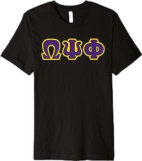 Mens Omega Psi Phi Fraternity, Inc. T-shirt