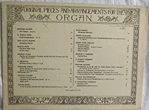 Toccata In G Theodore Dubois Original Pieces and Arrangement For The Organ