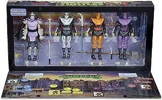 Sdcc 2016 tmnt foot soldiers teenage mutant turtles Neca exclusive comic con arcade Box set four figurines