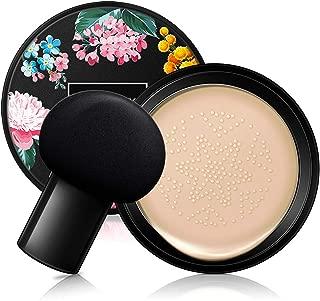 Mushroom Head Air Cushion BB Cream, Concealer Lasting Nude Makeup Moisturizing Brightening Pigment CC Liquid Foundation, Even Skin Tone Makeup Base Primer (Naturai white)
