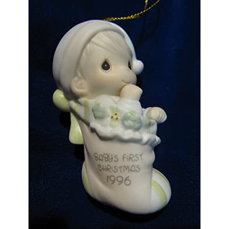 Precious Moments Baby's First Christmas 1996 Annual Edition Boy 183946