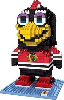 FOCO NHL Chicago Blackhawks BRXLZ 3D Blocks Set - MascotBRXLZ 3D Blocks Set - Mascot, Team Color, One Size