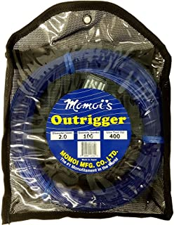 Momoi Outrigger Monofilament Rigging Kit - 400 lbs. Line Test - 100 Yards - Dark Blue