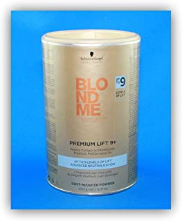 Schwarzkopf BlondMe Color Powder Bleach Premium Lift 9+ 450 grams
