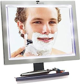 محصولات توالت Tree Deluxe LED بدون آینه دوش بدون درز با Squeegee ، 1.45 اونس